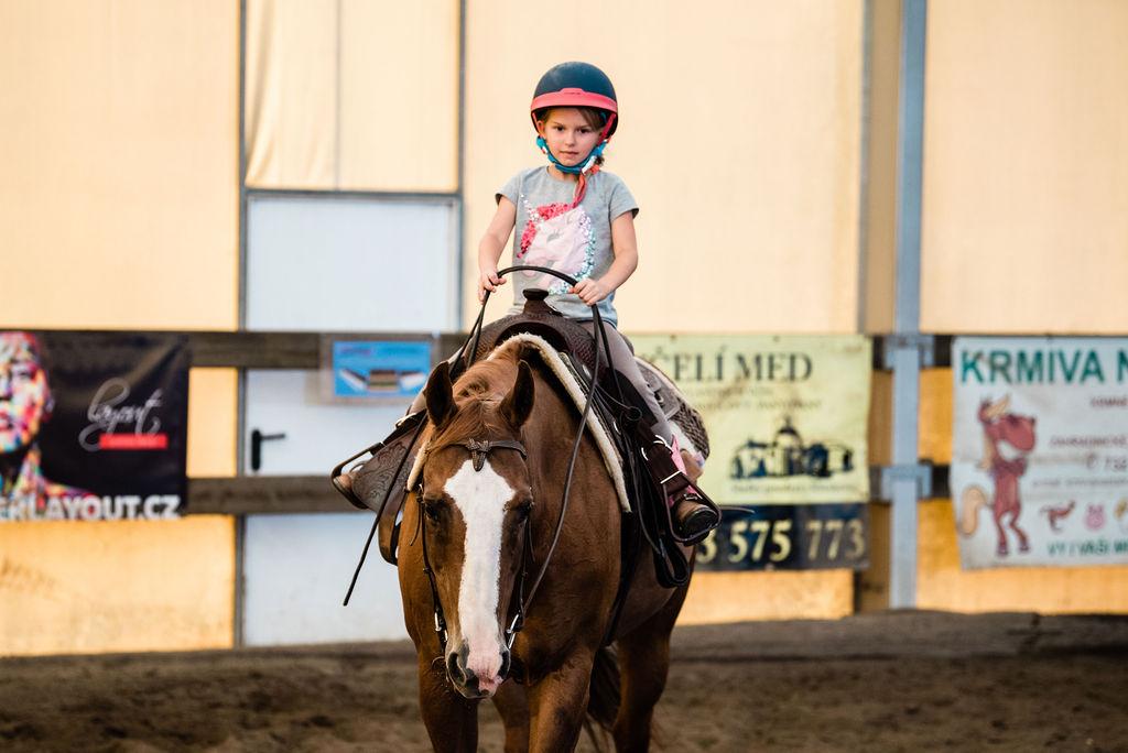 Bujnoch Ranch – výcvik jezdce